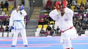 Tanya Rodríguez llora de la  emoción luego de conquistar  medalla de oro.  Manolito Jiménez