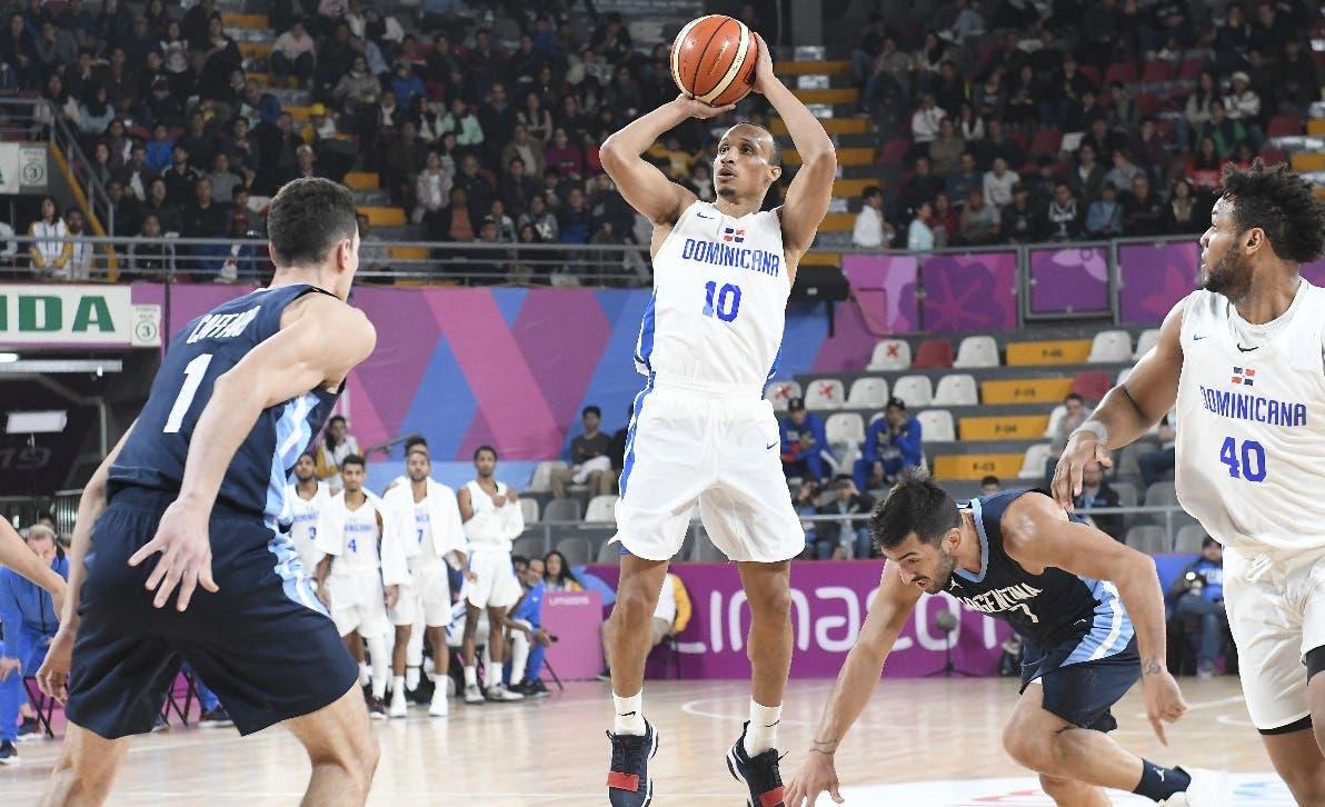 Básket República Dominicana  cae ante Argentina en Juegos Panamericanos