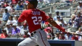 El dominicano Juan Soto es reconocido como un gran bateador por su habilidad en el plato.