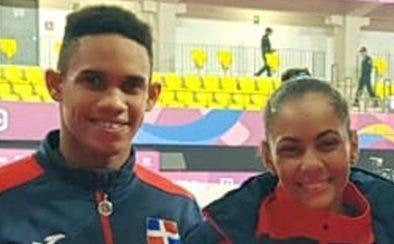 Junior Mateo  y Maryan Gómez.  MANOLITO JIMÉNEZ