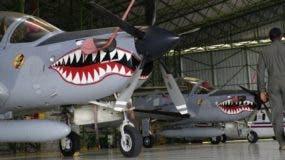 Los aviones Súper Tucanos operan desde la Base Aérea de San Isidro, en Santo Domingo Este.       ELIESER TAPIA