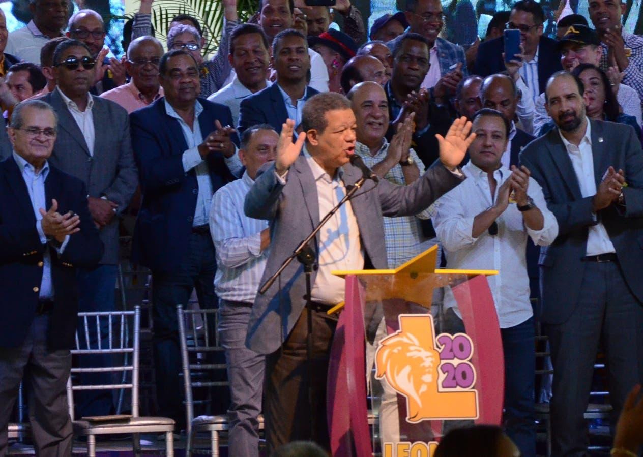 Leonel aseguró contar en la actualidad con más del 50% aprobación.  JOSÉ DE LEÓN