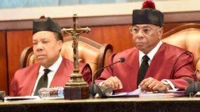 El Tribunal Constitucional ha conocido y fallado sobre  varias instancias sometidas contra la Ley de Partidos.  archivo