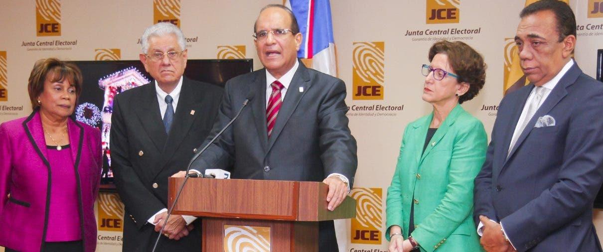 El pleno de la JCEl ya ha emitido otras advertencias en el pasado por violación a la Ley 33-18.