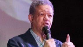Leonel Fernández, presidente del PLD y precandidato presidencial.