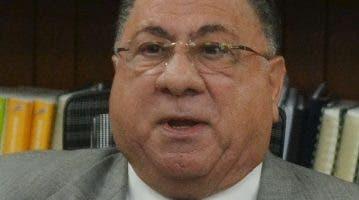 José Ramón  Fadul, delegado del PLD en la JCE.