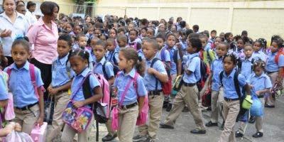 Más de 2.8 millones de estudiantes participan del año escolar 2019-2020. Fuente Externa