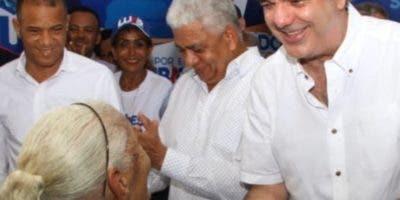 Luis Abinader encabezó actividad en Sánchez Ramírez.