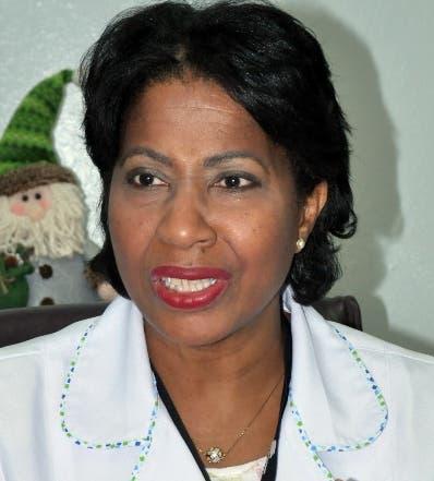 Nereyda Solano Directora del hospital Robert Reid Cabral.
