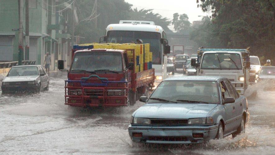 Las lluvias se registrarán principalmente en horas de la tarde, según Onamet.archivo