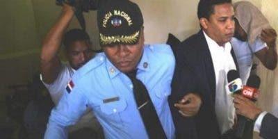 Octavio Dotel está detenido en el Palacio de Justicia de Ciudad Nueva.