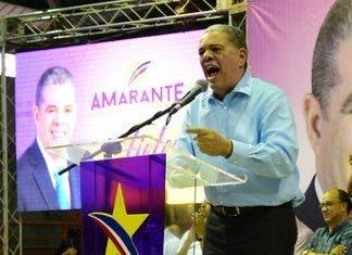 Amarante Baret emplaza precandidatos danilistas a participar en un debate