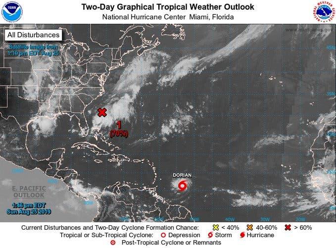 Piden a Puerto Rico, RD y Haití monitorear avance de la tormenta tropical Dorian