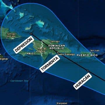 Tormenta Dorian podría debilitarse antes de tocar tierra en República Dominicana de seguir trayectoria