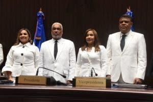 El nuevo bufete directivo de la Cámara de Diputados para el periodo 2019-2020.