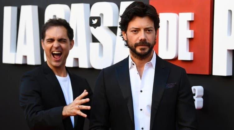 Pedro Alonso (izquierda) y Álvaro Morte (derecha) llevaron a cabo un plan para convencer a los guionistas de que sus personajes tenían que ser hermanos, después de que los creadores descartaran en distintas ocasiones su propuesta   (Foto: Archivo)