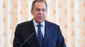 Serguéi Lavrov acusó hoy a Estados Unidos de seguir políticas que buscan romper la estabilidad estratégica mundial.
