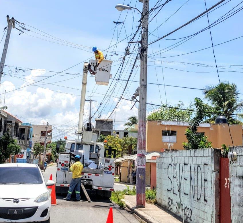 EDE Este incluye sectores de San Pedro de Macorís en su programa 24 horas de energía