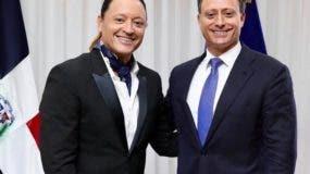 Elvis Crespo y Jean Alain Rodríguez.