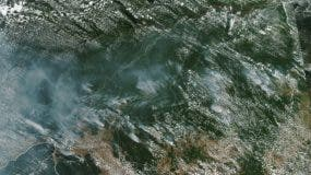 Incendios en la Amazonía Brasileña