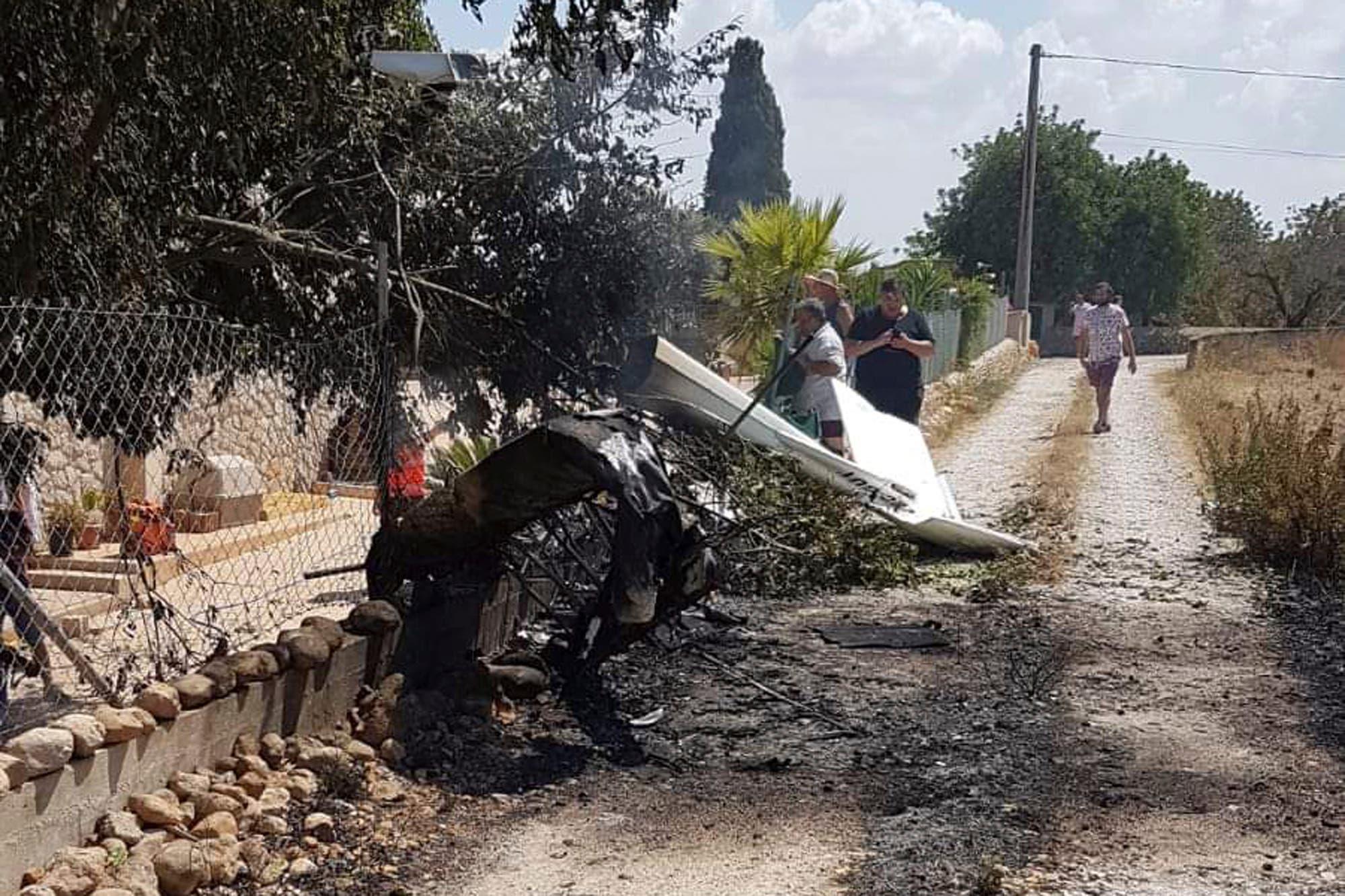 Cinco muertos por choque de helicóptero y avioneta en Mallorca