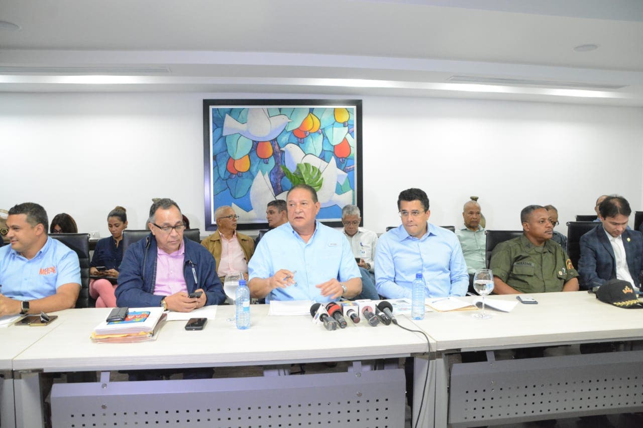 Comité de Emergencia del Distrito Nacional adopta medidas preventivas ante posible paso de Dorian