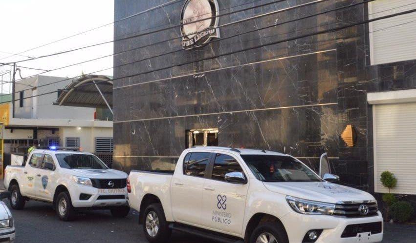 """Uno de los negocios allanados hoy en busca del presunto narcotraficante """"César el Abusador"""""""