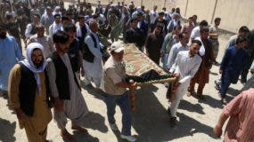 Suicide attack targeted a wedding hall in Kabul