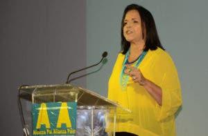 Minou Tavárez Mirabal que en lo adelante será la vicepresidente de ALPAÍS.
