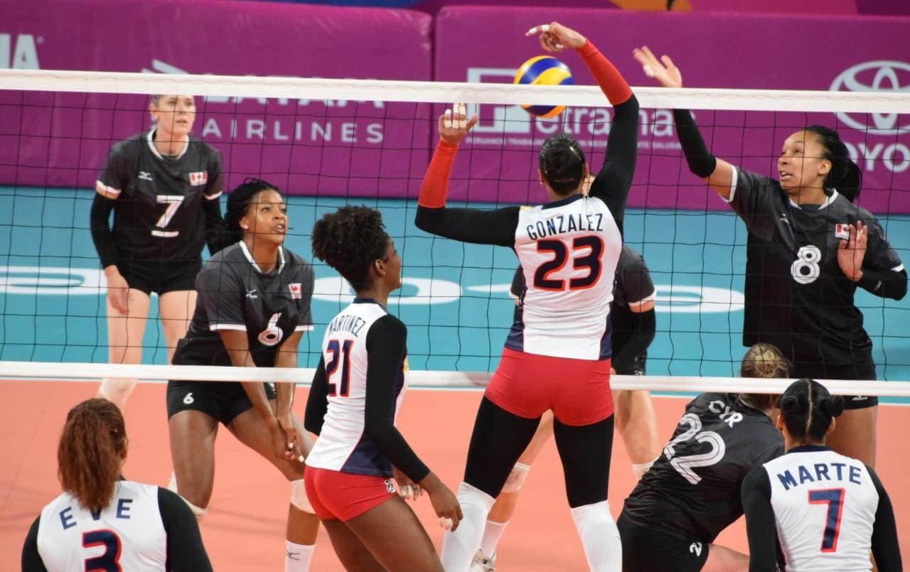 República Dominicana vence a Canadá 3-0 y sigue invicto en voleibol Panam