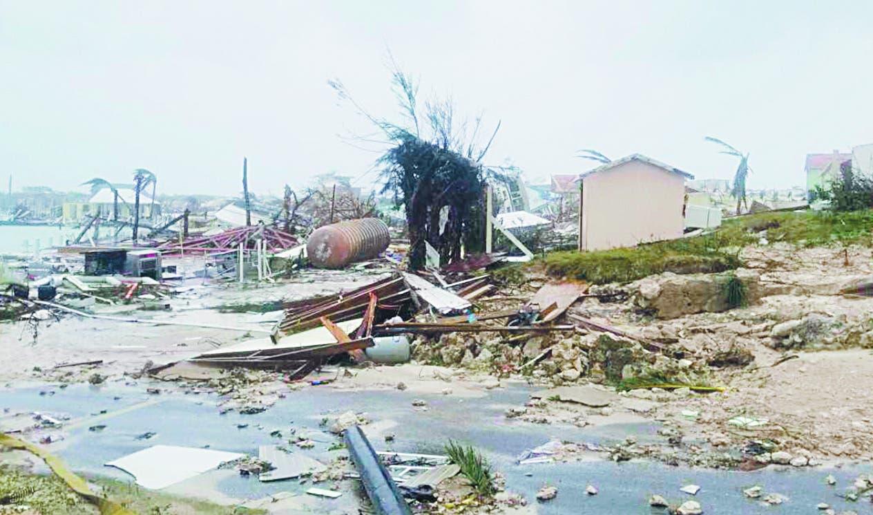 Dorian azota Bahamas como tormenta de alta intensidad