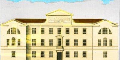 """Los hospitales, como el St. Georges en Londres, eran conocidos como """"casas de la muerte""""."""