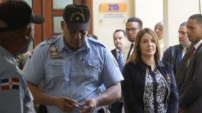 Marisol y otros dos imputados fueron enviados a la cárcel por tres meses.  EliEser TAPIA.