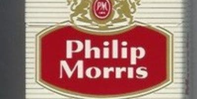 Philip Morris International es  empresa de cigarrillos.
