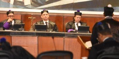 El Pleno de  Suprema ratificó el horario para el martes, miércoles y jueves.  Alberto Calvo