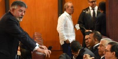 El pleno de la SCJ estuvo integrado por 15 de los 17 jueces titulares.  Alberto Calvo