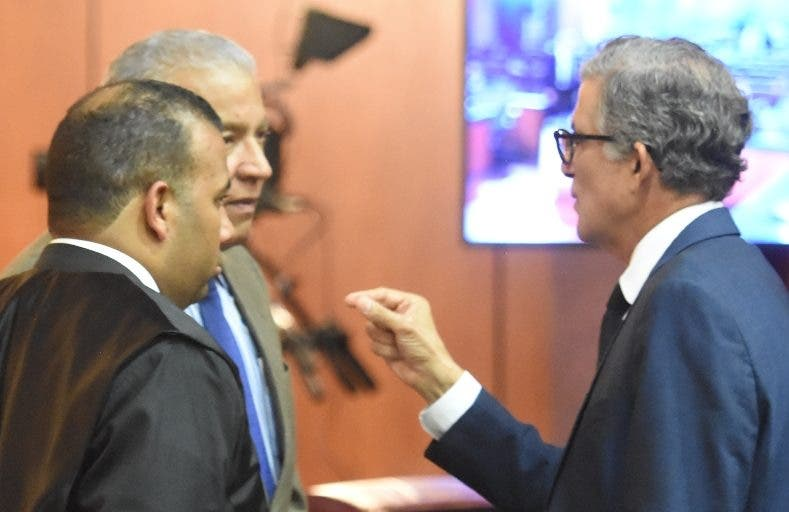 Andrés Bautista,   Jorge López y  Conrado Pittaluga.