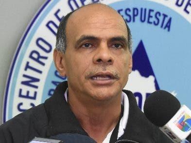 Carlos Paulino, subdirector del  COE.  Alberto calvo