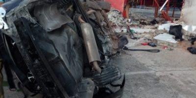Condiciones en que quedó el vehículo.  fuente externa