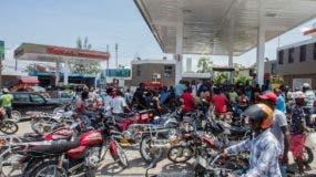 Una gran cantidad de gasolineras están cerradas en Haití.