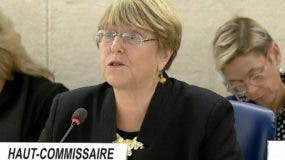 Michelle Bachelet citó  400 mil  personas afectadas por enfermedades crónicas en Venezuela.