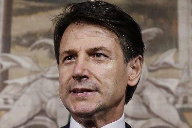 El primer ministro Giuseppe Conte formará su gabinete.