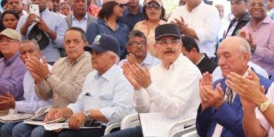 El presidente Medina ha realizado 265  visitas. fuente externa