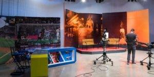 Los estudios del canal 4 fueron remozados en su totalidad.