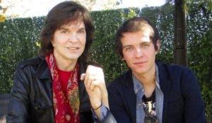 Camilo Sesto junto a su hijo Camilo Blanes (Camilín).