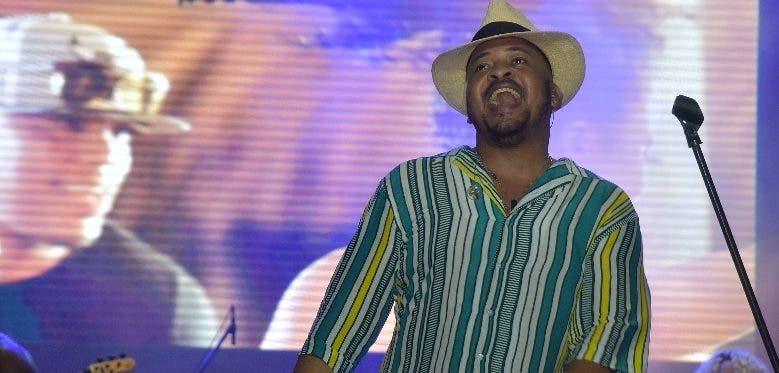 Wason Brazobán  cantó todos sus éxitos.  FUENTE EXTERNA