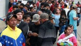 En Perú hay cerca de 800 mil venezolanos refugiados por la crisis  en su país.