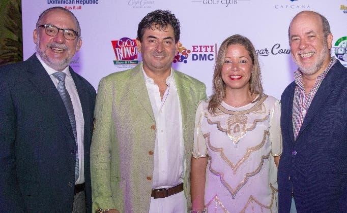 Carlos Elmúdesi, Daniel Hernández,   Elsa Ramírez y Teddy de Lara.