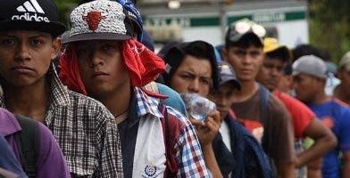 Los mexicanos piden asilo.