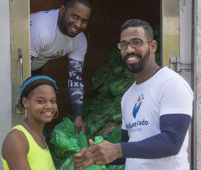 Voluntariado Banreservas beneficia a 132 mil familias